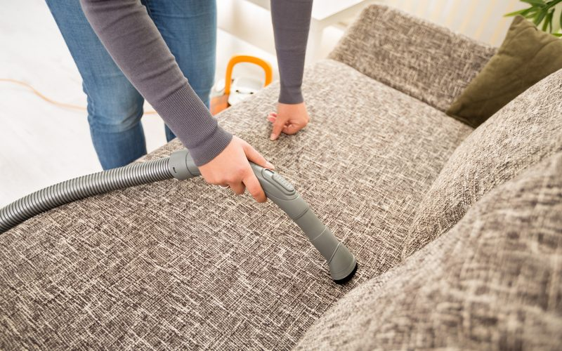 Professional Fabric Sofa Vacuum Bacteria Removal Cleaning